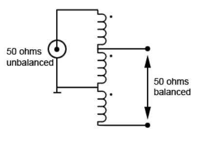 1:1 Voltage Balun