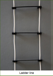 Ladderline antenna