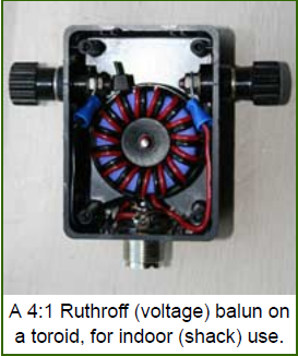 4:1 Ruthroff Voltage Balun