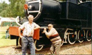 Garnett Gould ZS5ZT & Johnny Bekker ZS6RG (SK)